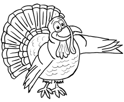 how to draw turkeys thanksgiving animals step by step