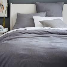 Flannel Duvet Cover Pillowcases West Elm Uk
