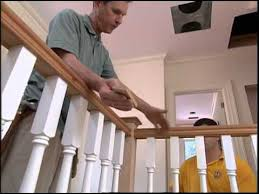 Stair Banister Installation Installing Stair Handrails And Balusters Youtube
