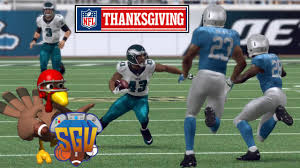 madden 16 xbox one nfl thanksgiving day sim lions vs eagles