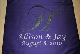 purple aisle runner customized and printed aisle runners