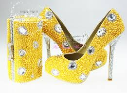 wedding shoes and bags wholesale shoes and bags to match lemon yellow dress shoes for