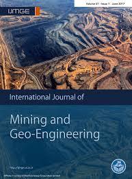 Int by Journal Of Mining U0026 Geo Engineering