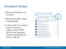 Mft Resume Opentext Secure Mft Product Presentation Opentext Confidential