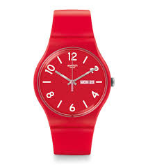 red swatch backup red suor705 swatch united states