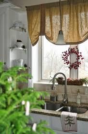 Farmhouse Kitchen Curtains by 39 Best Kitchen Curtains Images On Pinterest Burlap Curtains