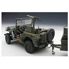 vintage military jeep autoart u2013 1 18 scale u2013 signature series u2013 1943 willy u0027s jeep with