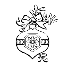 christmas decorations coloring pages kids coloring