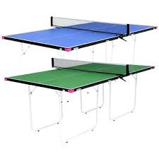 2 piece ping pong table ping pong table size sports 2 piece table tennis table top com ping