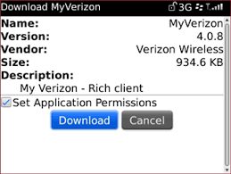 download and install my verizon blackberry bold 9650 smartphone