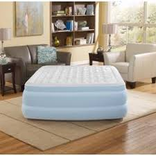Inflatable Bed With Frame Frame Air Mattress Air Bed Headboard Inflatable Portable Queen