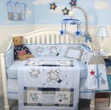 Airplane Crib Bedding Airplane Crib Bedding For Baby Boys Fabulous Airplane Bedding And