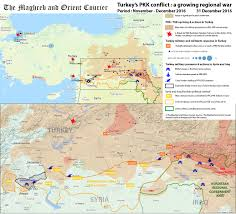 Syria Conflict Map by Turkey U2013 A Growing Civil War En U2013fr The Maghreb And Orient Courier