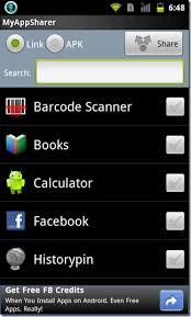 bluetooth ftp apk myappsharer apps via bluetooth sms email more android