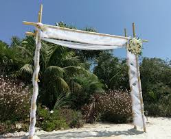 Bamboo Wedding Arch 2