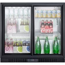 coca cola fridge glass door summit scr700 6 5 cf undercounter beverage cooler w sliding glass