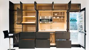 furniture for kitchen resource furniture s stealth kitchen hides in your wall digital