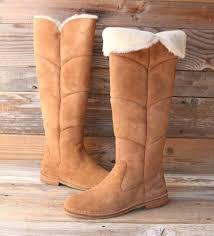 ugg australia emilie us 7 5 mid calf boot blemish 11785 ugg australia chestnut the knee sheepskin boots us 10
