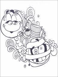 coloriage dessins pour enfants emojis émoticônes 29