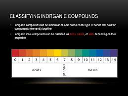 science 10 mr francis 8 1 u2013 classifying inorganic compounds