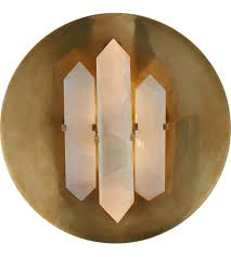 Visual Comfort Wall Sconce Visual Comfort Kw2090ab Q Kelly Wearstler Halcyon 2 Light 14 Inch