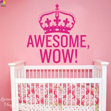 online get cheap awesome wall stickers aliexpress com alibaba group awesome wow king george crown wall sticker baby nursery bedroom family love inspiration quote wall decal