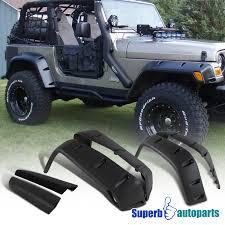 2011 jeep wrangler fender flares 1997 2006 jeep wrangler tj extended bumper fender flares 7