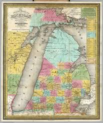 Michigan Indian Tribes Map by Northern Michigan Wow Com