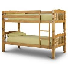 Tesco Bunk Bed Buy Happy Beds Chunky Wood Bunk Bed With 2 Orthopaedic