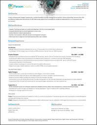 Resume Matching Software Beautiful Design Resumes U0026 Their Matching Portfolio Sites