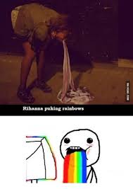 Puking Rainbow Meme - 25 best memes about puking rainbows puking rainbows memes
