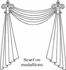 How To Hang A Curtain Home Design And Decor Pretty Window Scarf Ideas White Valance