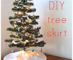 Faux Fur Christmas Tree Skirt How To Make A Tree Skirt 8 Steps With Pictures