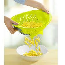 passoire de cuisine passoire 2 fonctions pour égoutter et servir passoires chinois et