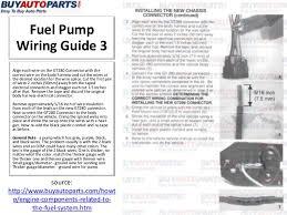 how to fix a fuel pump