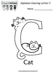 letter c coloring page letters letter c and alphabet