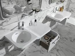 Wall Mount Bath Sink Bathroom Cabinets Double Vanity Wall Mounted Sink Vanity Unique
