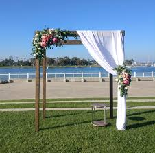 wedding arches to rent wood pergola arch rental san diego
