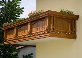 balkone holz holz classic semmering leeb balkone und zäune