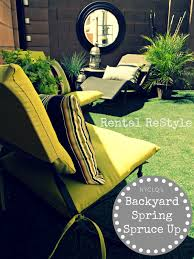 focal point styling rental restyle budget friendly backyard