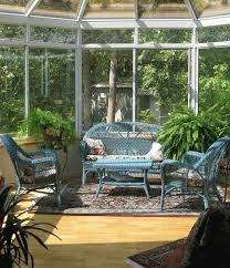 furniture glass walls and french door with sunroom furniture also