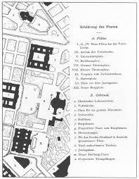 Cullen Haus Grundriss by Camillo Sitte Ringstrasse Proposal Vienna Balabalala