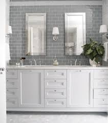 white glass subway tile contemporary kitchen backsplash idolza