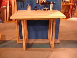 Woodworking Plans For Free Workbench by How To Make A Fold Down Workbench How Tos Diy