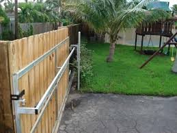 fence beautiful how to build a wood fence gate wrought iron