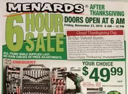 black friday deals at menards ad scan the gazette review