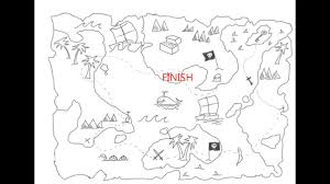 how to draw a map how to draw a treasure map