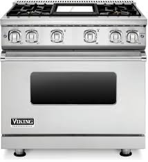 Kenmore Pro 36 Gas Drop In Cooktop Viking Vgr73614gss 36 Inch Gas Range With Convection Vichrome