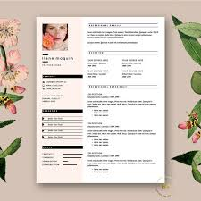 Iwork Resume Templates Stylish Resume Template 3pk Modern Cv Free Cover Letter For Ms