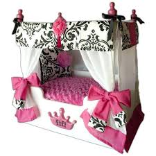 Princess Canopy Bed Pampered Pet Princess Pink Dog Bed U2013 Restate Co